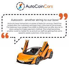 Auto Coin Cars - Testimonial time!! #cryptocarsales