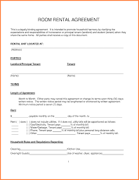 rental agreement for room info 12751650 simple rental contract doc12751650 simple rental