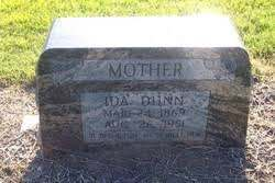 Ida Holt Dunn (1869-1951) - Find A Grave Memorial