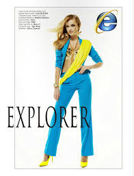 internet explorer costume she just crashed women dressed as internet browsers geekologie
