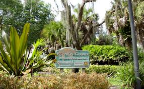 tori greg wedding at the florida tech botanical gardens at fit melbourne