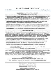 Cfo Resume Examples Executive 2 Easy Include – Nwuvaalio.info