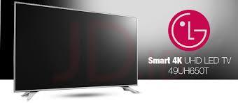 lg tv 49 inch 4k. sekarang anda dapat menonton televisi dengan lebih nyaman dukungan fitur yang menyenangkan berkat lg smart 4k uhd 650t. lg tv 49 inch 4k
