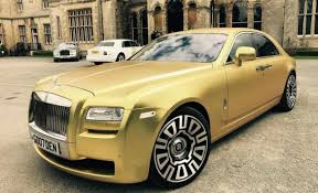 This matte gold Rolls-Royce can be yours for just 16 Bitcoins -