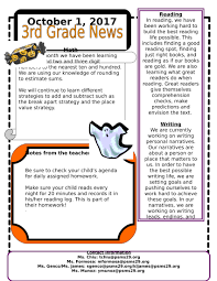 Grade Newsletters Archive 2017 2018 - Ps/ms 29, The Melrose School