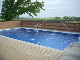 square above ground pool with deck. Pool Douches In Small Square Swimming The Home Back Yard Excerpt Semi Above Ground. Ground With Deck D
