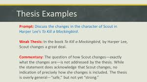 parts of an essay english ppt thesis examples prompt discuss the changes in the character of scout in harper lee s to