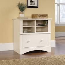 wood file cabinet white. Lateral File Wood Cabinet White S