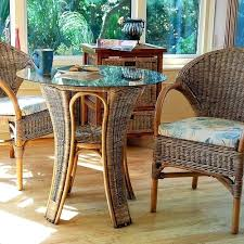Modern Conservatory Furniture Mesmerizing Cane Conservatory Furniture Breakfast Sets This Small Round Table