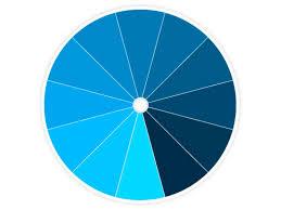 Chic Color Scheme Wheel One Color Monochromatic Color Wheel Schemes  Interior Design