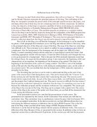 reflection essay sample self reflection essay org view larger