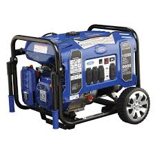 Ford 9 000 Watt Gasoline Powered Portable Generator FG PE