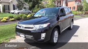 2012 Toyota Highlander Hybrid Limited: Review and Test Drive - YouTube