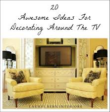 Tv Decorating Ideas Decorating Around The Tv 20 Elegant Inspiring Ideas Laurel Home