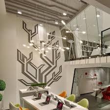 tube office. Modern Led Tube Hanging Light Brief Fashion Office Lamp Creative Decoration Design Aluminum Made Black