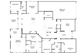 simple house plans 4 bedrooms bedroom ranch house floor plans 4 bedrooms house plans 4 bedrooms bungalow