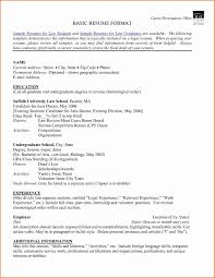Reverse Chronological Order Resume Clean Format Portfolio Website