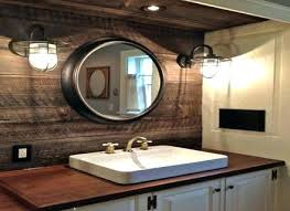 rustic bathroom lighting. Rustic Bathroom Lighting Lowes Cool Farmhouse Designs Industrial Vanity .