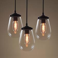 pendant lighting ceiling lights fixtures. Globe Clear Glass Pendant Light Pack Of 3 Lighting Ceiling Lights Fixtures E