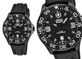 wenger swiss military watch men s wenger swiss military sport collection watch black dial black strap 79355 250 list price