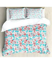 paisley duvet cover paisley duvet cover set leaves and star with pillow shams ralph lauren navy