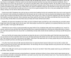 Bayley on Twitter   An old English essay from high school  In one