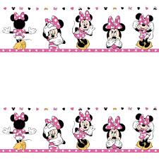 Minnie Mouse Wallpaper For Bedroom Mickey And Minnie Mouse Wall Border Baby Wall Kids Birthdays