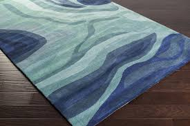 teal area rug 5 7 black