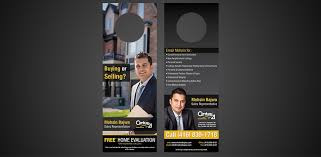 door hanger design real estate. Real Estate Door Hanger Design