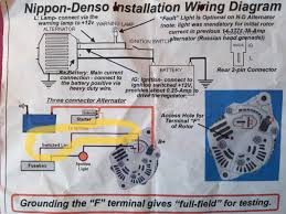 4 wire denso alternator connection diagramt trusted manual alternator conversion u201cswitched live u201d connection electrical rh lotuselan net 4 wire denso alternator diagram
