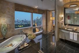the presidential suite of new york s mandarin hotel has a perfect view of central park and
