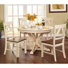 simple living vintner country style dining set 4 n a 5 piece 5 piece sets white furniture