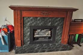 painting oak stained fireplace mantle white fireplace oak jpg