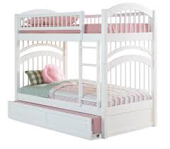 sustainable windsor twin over twin bunk bed in white for white twin bunk beds