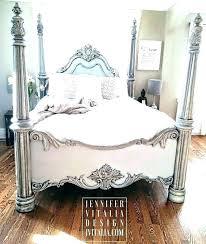 Full Size Poster Bed White Canopy Bed Collection Full Size Poster ...