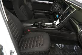 2016 fusion seat covers 2016 used ford fusion 4dr sedan se fwd at haims motors serving