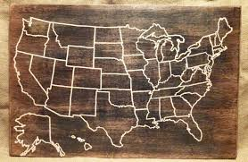 wooden usa map wall art delightful ideas united states wall art throughout 2018 state map wall