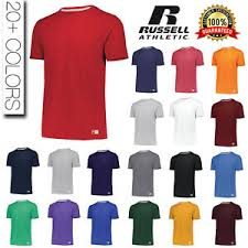 Details About Russell Athletic Mens Dri Power Essential Blend Sports T Shirt S 2xl Tee 64sttm