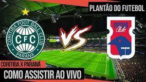 Onde assistir Coritiba x Paraná Ao Vivo | Campeonato Paranaense - YouTube