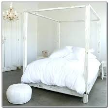 White Canopy Bed Queen Decoration White Canopy Bed Queen For Perfect ...