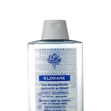 klorane soothing make up remover lotion