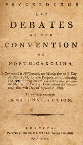 anti federalists ncpedia proceedings and debates of the convention of north carolina convened at hillsborough on