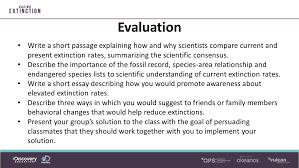 working a turnaround preventing extinction essential questions 28 evaluation