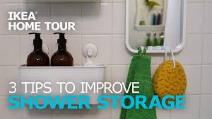 Shower Storage Ideas – IKEA Home Tour - YouTube