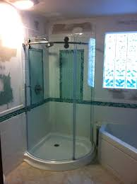 curved shower door master bath with curved shower doors wickes curved shower door rollers