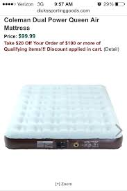 queen size air mattress coleman. Queen Air Mattress Camping Size Best . Downy Coleman
