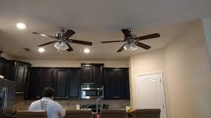 Kitchen Fan With Light Astonishing Grey Metal Kitchen Ceiling Fan With Light Mahogany