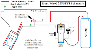 everything you need to know about mosfets upgrades notice how there is only 1 signal wire running to the gearbox trigger contacts now compare this to terry s drawing above and note how the second trigger