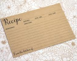 housewarming cards to print recipe cards etsy