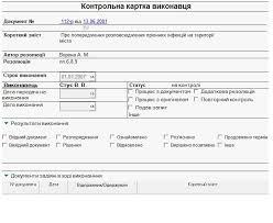 lianadoc Канцелярия lianadoc семейство программ для  Контрольная карточка исполнителя